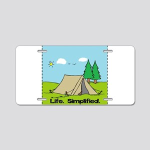 Life Simplified Outdoors Aluminum License Plate