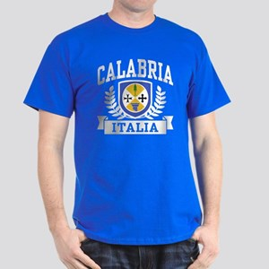 Calabria Italia Coat of Arms Dark T-Shirt