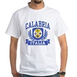 Calabria italy Mens Classic White T-Shirts