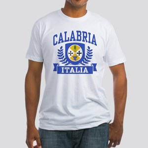Calabria Italia Coat of Arms Fitted T-Shirt