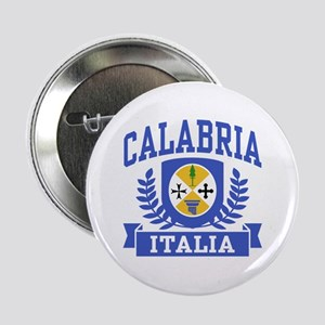 "Calabria Italia Coat of Arms 2.25"" Button"