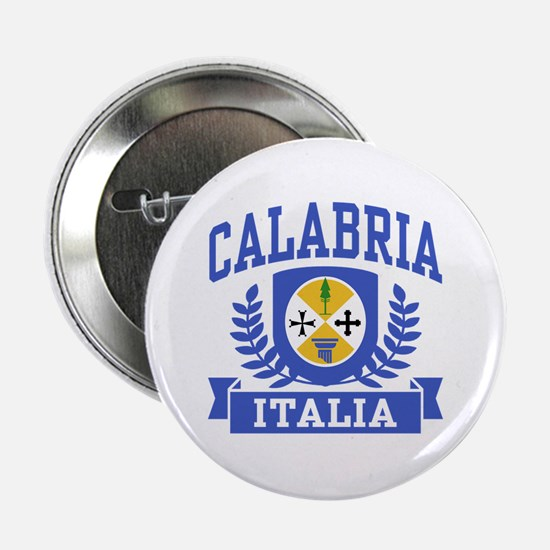 "Calabria Italia Coat of Arms 2.25"" Button"