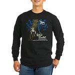 Ghost Orchid Long Sleeve Dark T-Shirt