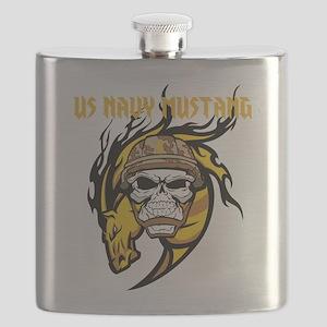 US Navy Mustang Flask