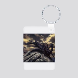 alex-dragon Aluminum Photo Keychain