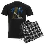 Ghost Orchid Men's Dark Pajamas