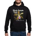 Florida Butterfly Orchid Hoodie (dark)