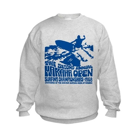 Makaha Surfing 1968 Kids Sweatshirt
