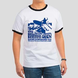 Makaha Surfing 1968 Ringer T