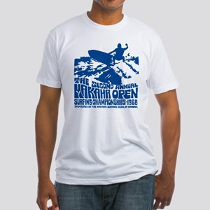 Makaha Surfing 1968 Fitted T-Shirt