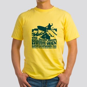 Makaha Surfing 1968 Yellow T-Shirt