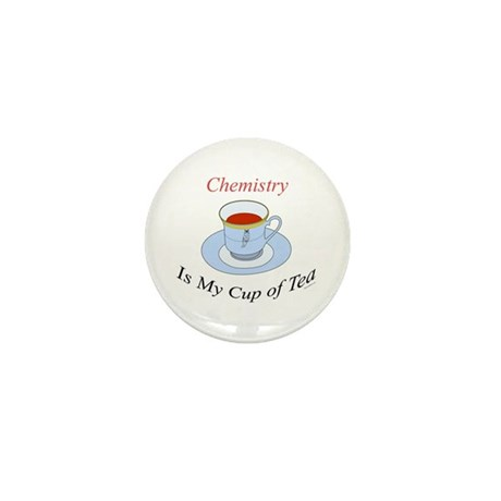 Chemistry is my cup of tea Mini Button (10 pack)