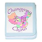 Changyang China baby blanket