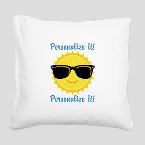 PERSONALIZED Cute Sunglasses Sun Square Canvas Pil