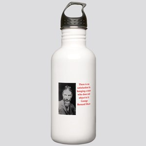george bernard shaw quote Stainless Water Bottle 1