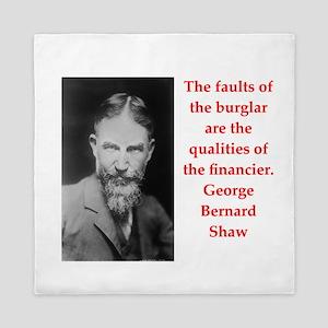george bernard shaw quote Queen Duvet