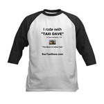 I rode with Taxi Dave Kids Baseball Jersey