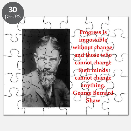 george bernard shaw quote Puzzle