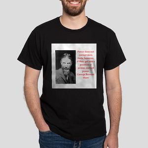 george bernard shaw quote Dark T-Shirt