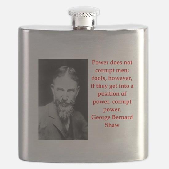 george bernard shaw quote Flask