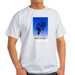 king of plop with text Light T-Shirt