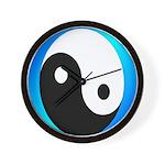 Yin-Yang Wall Clock