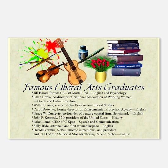 Famous Liberal Arts Graduates Postcards (8 pk)