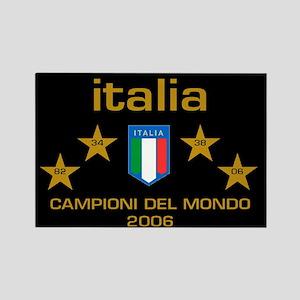 Italia Campioni 4 Magnets