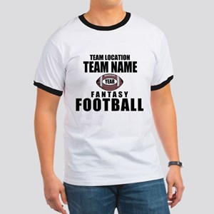 Your Team Personalized Fantasy Football Ringer T