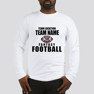 Your Team Personalized Fantasy Football Long Sleev