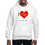 I heart TD Hooded Sweatshirt