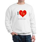 I heart TD Sweatshirt