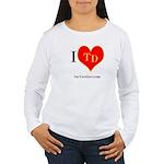 I heart TD Women's Long Sleeve T-Shirt