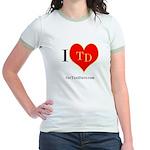 I heart TD Jr. Ringer T-Shirt