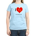 I heart TD Women's Light T-Shirt