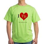 I heart TD Green T-Shirt