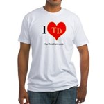 I heart TD Fitted T-Shirt