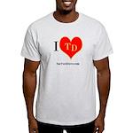 I heart TD Light T-Shirt