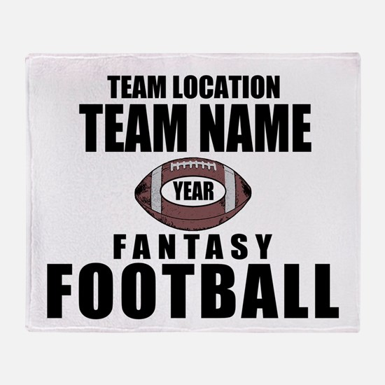 Your Team Personalized Fantasy Football Stadium B