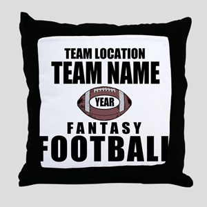 Your Team Personalized Fantasy Football Throw Pill