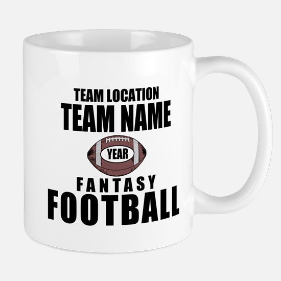 Your Team Personalized Fantasy Football Mug