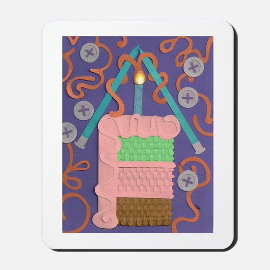 Knitted Wishes Mousepad