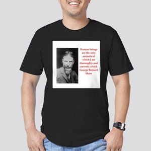27 Men's Fitted T-Shirt (dark)