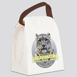 Sagarmatha Snow Leopard Canvas Lunch Bag