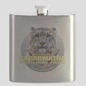 Sagarmatha Snow Leopard Flask
