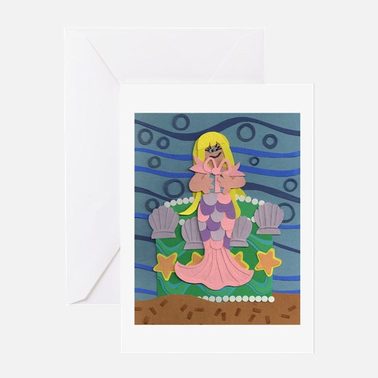 Mermaid Princess Greeting Card