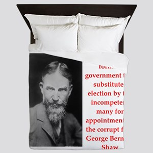 george bernard shaw quote Queen Duvet