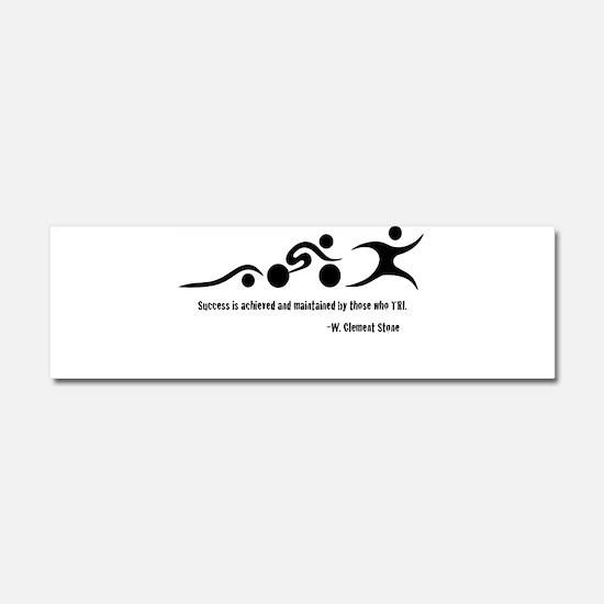 Triathlon Car Magnet 10 x 3