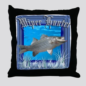 Wiper Hunter Throw Pillow