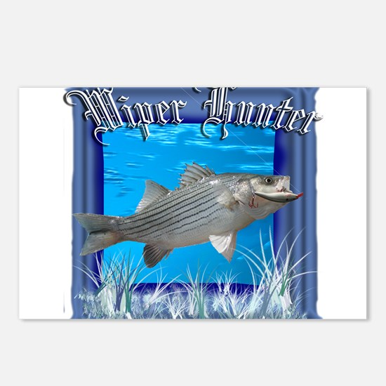 Wiper Hunter Postcards (Package of 8)